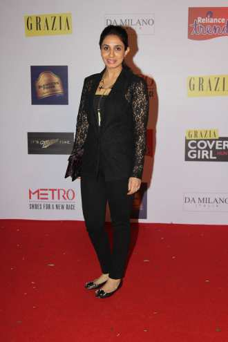 Asheema at the Red Carpet of Grazia Cover Girl Hunt at Tote on the Turf.1