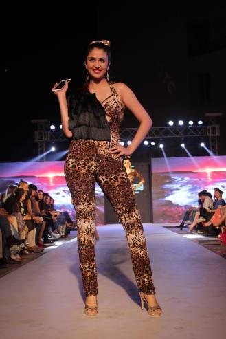 Pria Katarria Puri's collection@Tech Fashion Tour