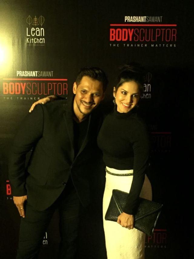 Prashant Sawant & Sunny Leone