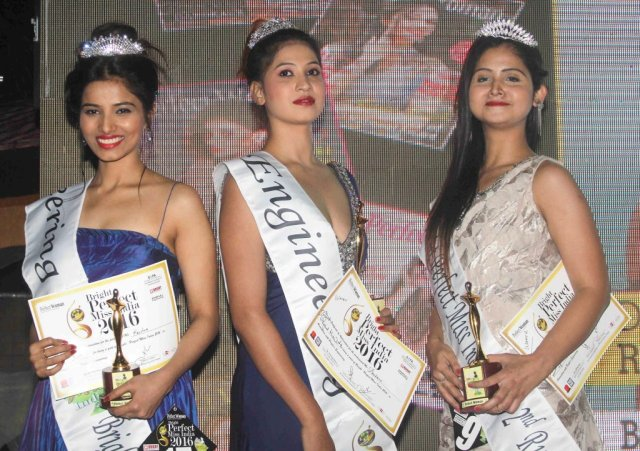Winners of Bright Perfect Miss India 2016