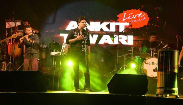 Ankit Tiwari, Live Concert organized by NGO HWARF and Grant medical College Mumbai