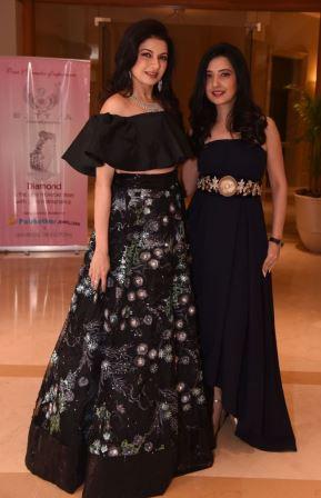 Bhagyashree and Designer Amy Billimoria @ Amy Billimorias's Show for MOGS