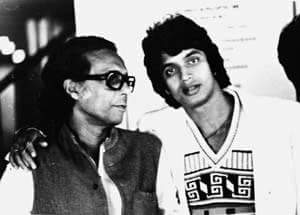 Mithun and Mrinal during the Mrigayaa Shoot HEMU Blog