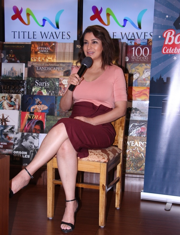 Actress Tisca Chopra