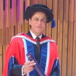 Shah Rukh Khan received Honorary Doctorate Degree from University of Law in London