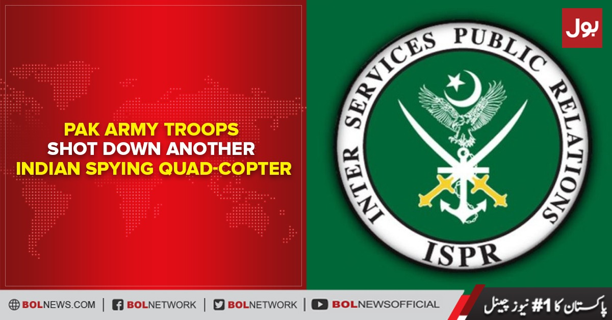 Photo of Pak army troops shoot down another Indian spy helicopter