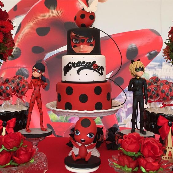 Bolos Decorados Miraculous As Aventuras De Ladybug