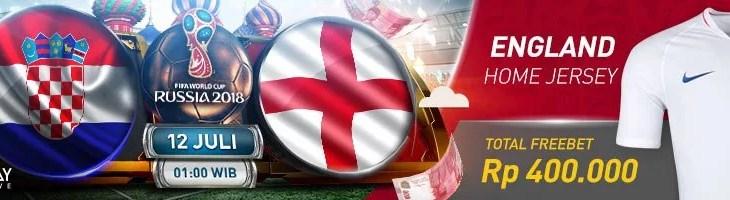 Semifinal World Cup Croatia vs England