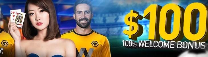 November Welcome Bonus 100%
