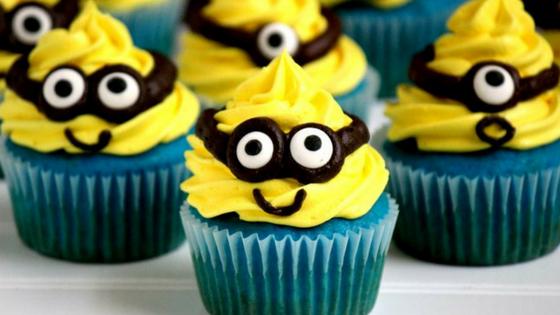 26 IdeiasCupcakes Minions 1 - Cupcakes Minion : 11 Ideias de decoração