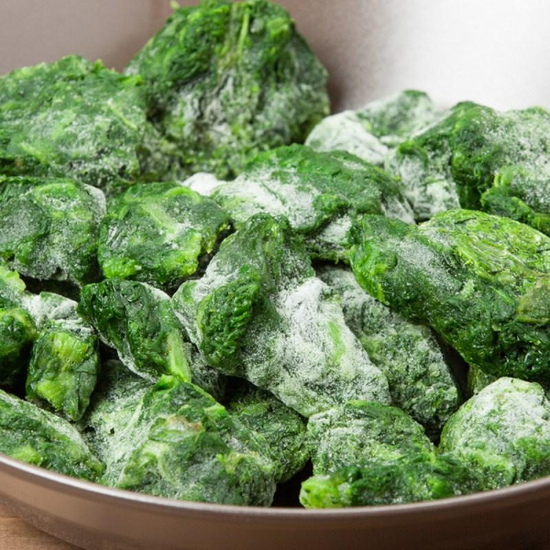 frozen spinach - 18 maneiras de cozinhar tudo mais rápido