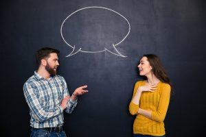 comunicação entre duas pessoas