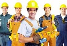 construction workers trabajadores de la construccion