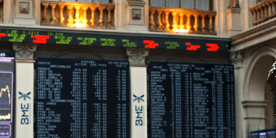 El Ibex cede un 0,41% al cierre de la sesión