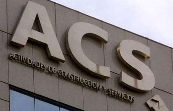 ACS consigue 201 millones de euros entre enero y marzo