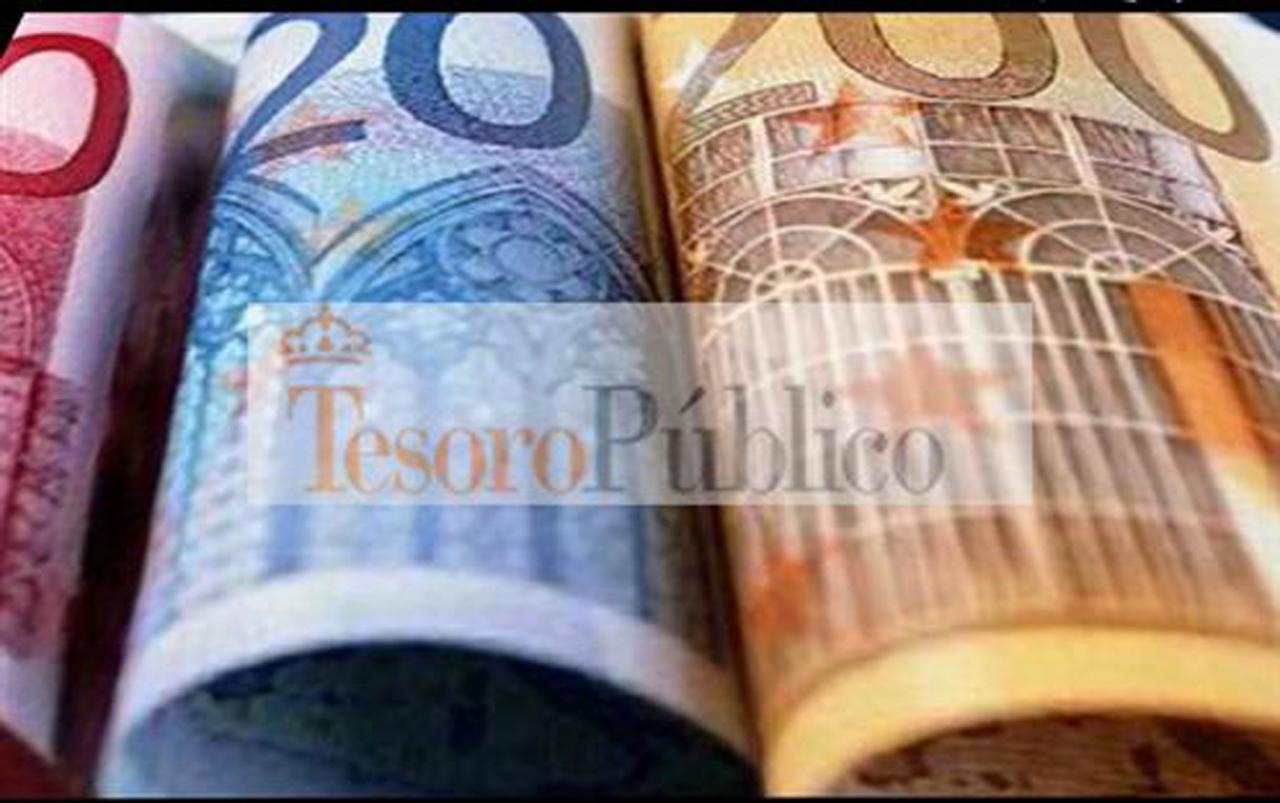 El Tesoro Pu00fablico capta 3.761 millones