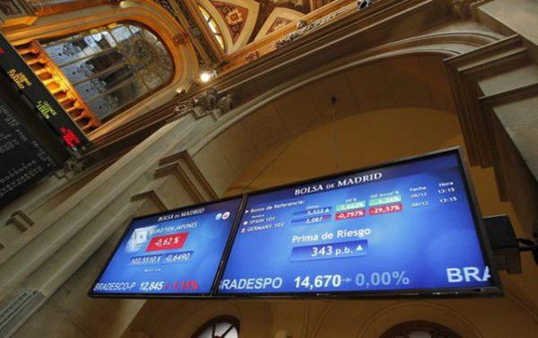 La Bolsa de Madrid comienza el miércoles en rojo (-1,21%)