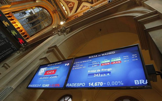 La Bolsa de Madrid cede un 0,07% al cierre