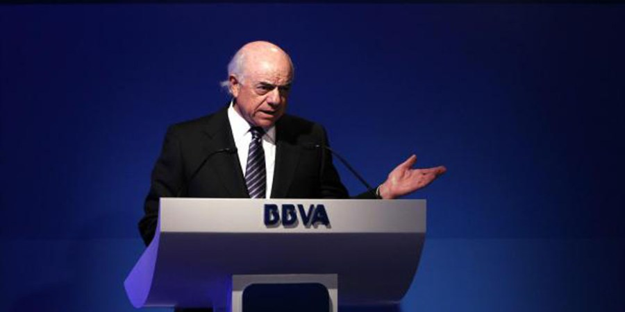 González (BBVA) percibe 2,59 millones de euros hasta junio