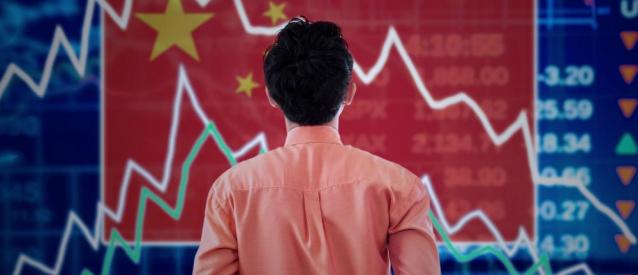 Oleada de impagos en China