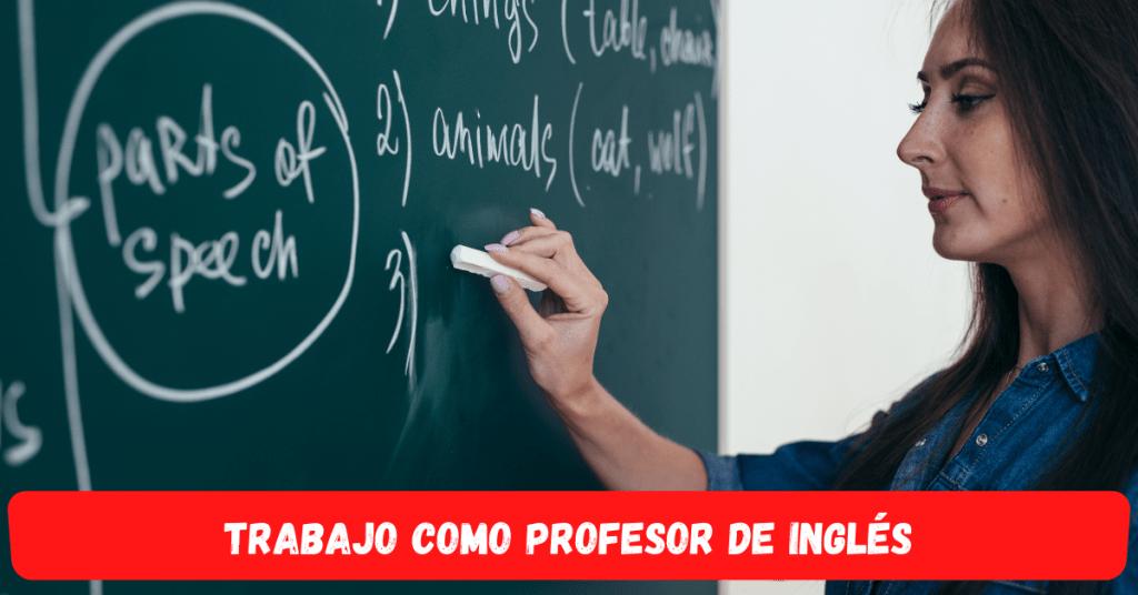 Empleo como profesor de inglés