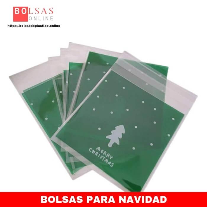 bb4a1896c Wa 100 Bolsas de celofán Autoadhesivas para Galletas de Navidad celofán  Dulces, plástico, Bolsas de celofán (Verde). - ✓ Bolsas Online