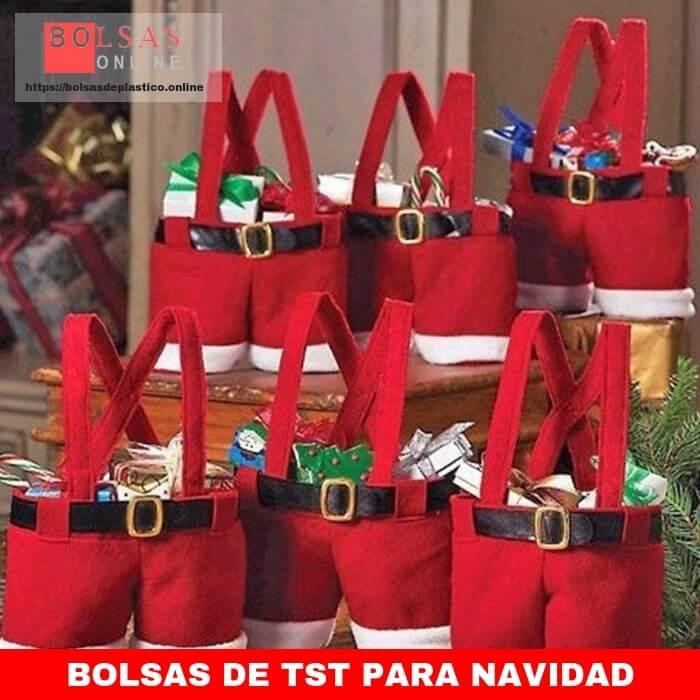 38652f849 ZOGIN Bolsa de Caramelo de la Navidad / Bolsa de Regalo de Pantalones de  Santa para Chocolates, Dulces y Otros Pequeños Regalos, Diseño de Papá  Noel, ...