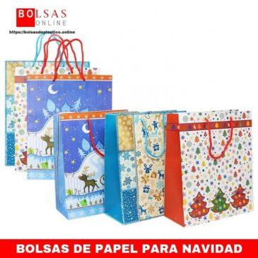 590c85480 6X Bolsas de Regalo para Navidad con Varios diseños, para Envolver Regalos,  26 x 26 x 12 cm (06 Piezas – Christmas Mix5)