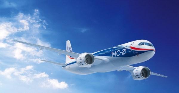 Самолёт МС-21 совершил первый международный полёт - Больше ...