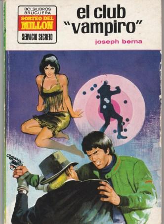 Joseph Berna EL CLUB VAMPIRO[OCT-1973]