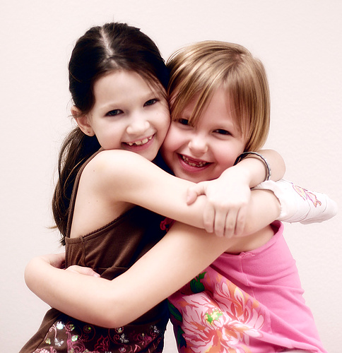 two-little-girls-hugging