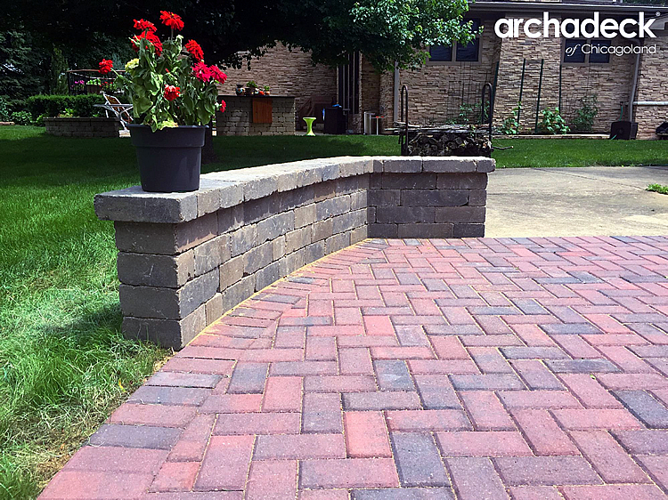 Paver Patio Ideas and Expaning Paver Patios | Archadeck ... on Red Paver Patio Ideas id=35321