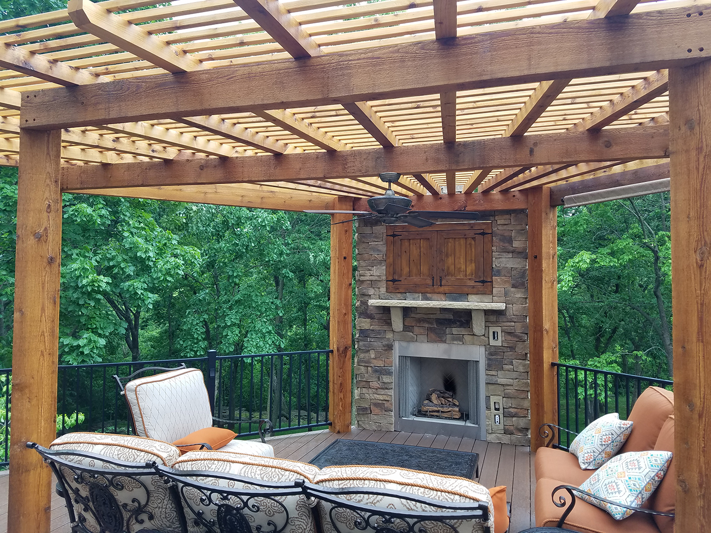 Blog   Archadeck Outdoor Living on Outdoor Gas Fireplace For Deck id=98755