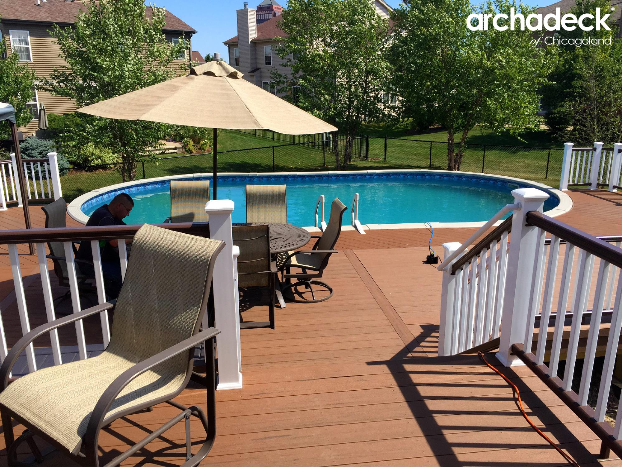 Pool Deck Ideas for Chicagoland Homeowners | Archadeck ... on Pool Deck Patio Ideas  id=95773