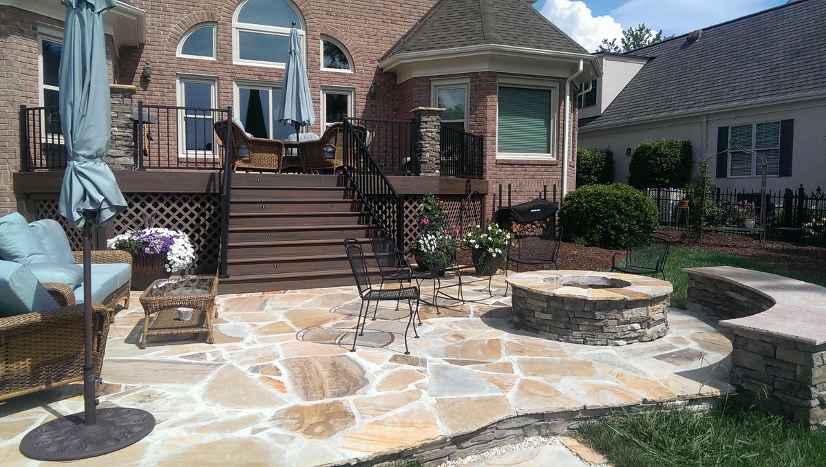 Charlotte Outdoor Builder on Patio Stone Deck Ideas id=73642