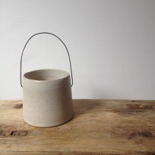 Pot with handle by Elaine Bolt