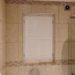 100 Waterproof Polyvinyl Shutters For This Bathroom