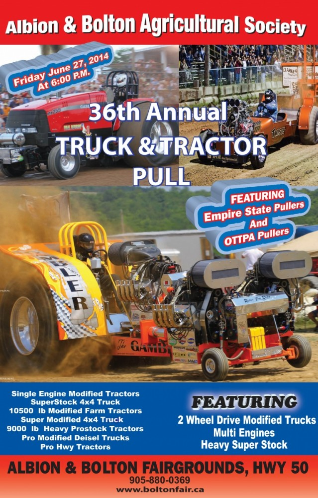 Up Next: Truck and Tractor Pull