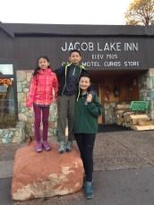 北缘的 Jacob Lake Inn