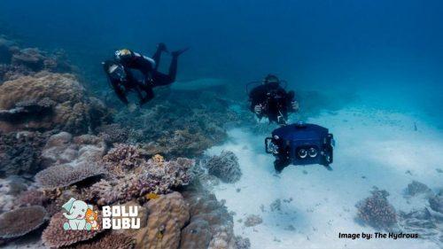 teknologi untuk menyelam virtual