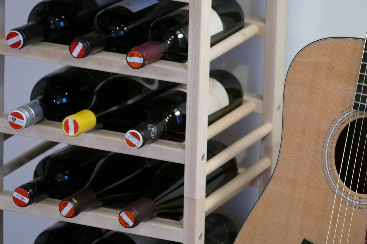 Vinreoler 16 Af De Flotteste Og Finurligste Vinholdere Trae Eller Metal