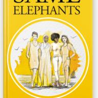 Book - Same Elephants By Marjy Marj