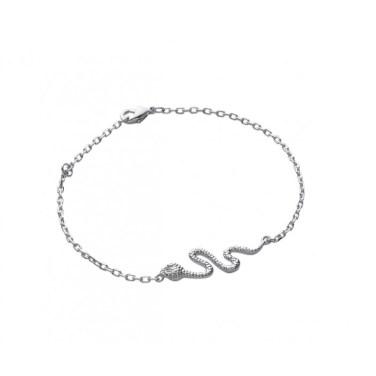 gourmette-serpent-en-argent-925-1000