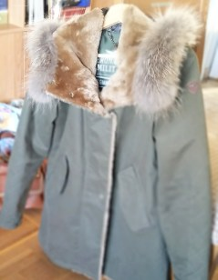 parka Aeronautica Militara, manteaux kiver, mode femme -Bombastikgirl.com, blog mode