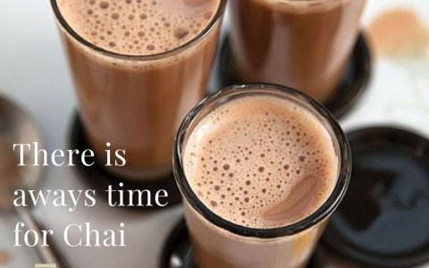 Chai time