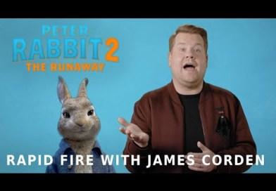 PETER RABBIT 2: THE RUNAWAY – Rapid Fire with James Corden