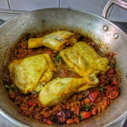 Add Seared Chicken