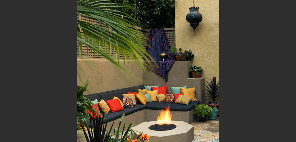 Big Ideas For Decorating Small Outdoor Spaces Bombay