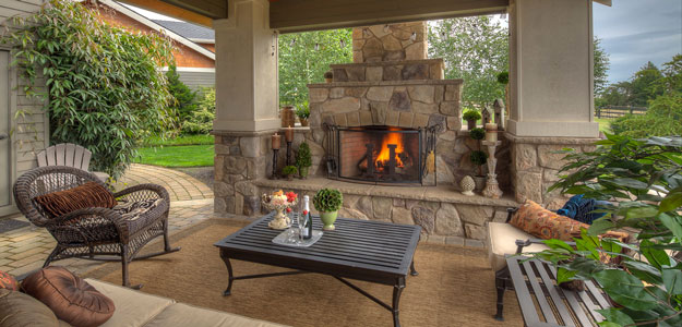 Outdoor Rooms: Part of the Castle « Bombay Outdoors on Houzz Outdoor Living Spaces id=54665