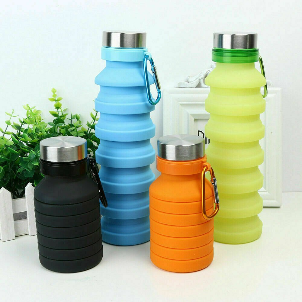 Collapsible bottles